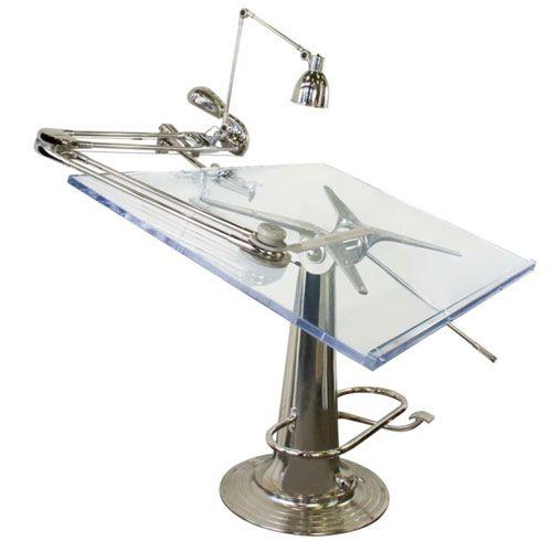 Drafting table.