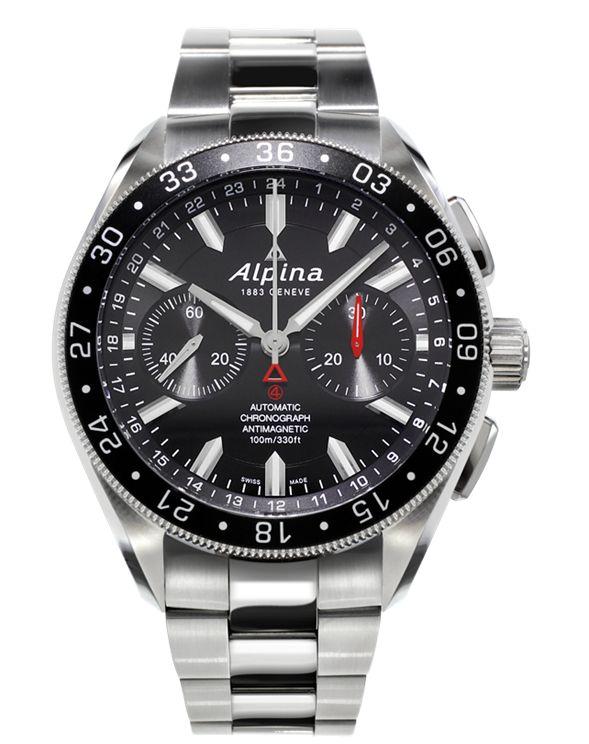 Alpiner 4 Chronograph (ref. AL-860B5AQ6B) – The Official Alpina Web Store