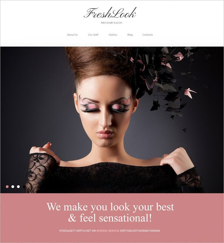 Good makeup artist website names saubhaya makeup for Cosmetology portfolio template