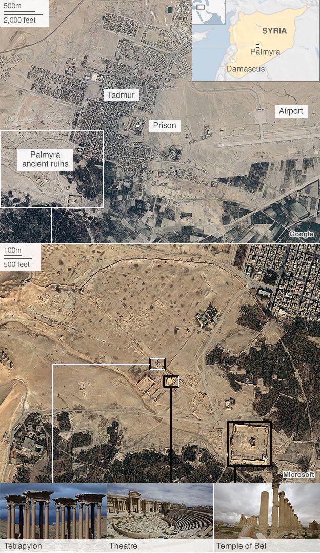 Islamic State seizes Syriau0027s ancient Palmyra The