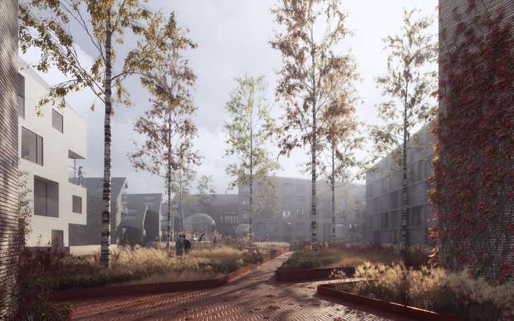 "Gallery of Schauman & Nordgren Architects Wins Competition for ""City of Gardens"" Masterplan in Finland - 4"