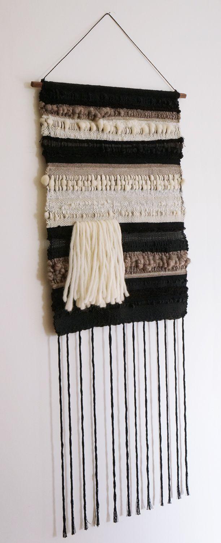 Fiber Art weaving by Barbara Rourke www.allthebellsandwhistles.com