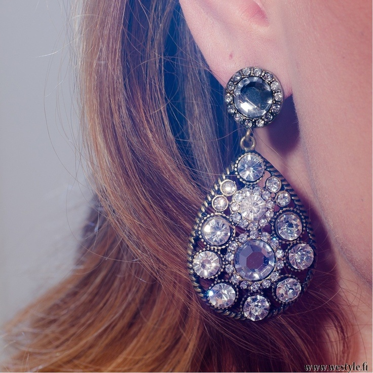 Fabulous statement-earrings at We Style! www.westyle.fi