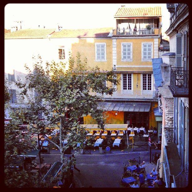 Place du Forum en Arles, France