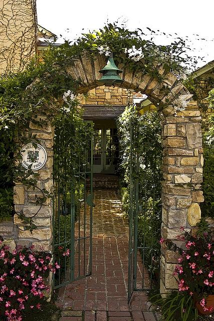 Carmel cottage gate