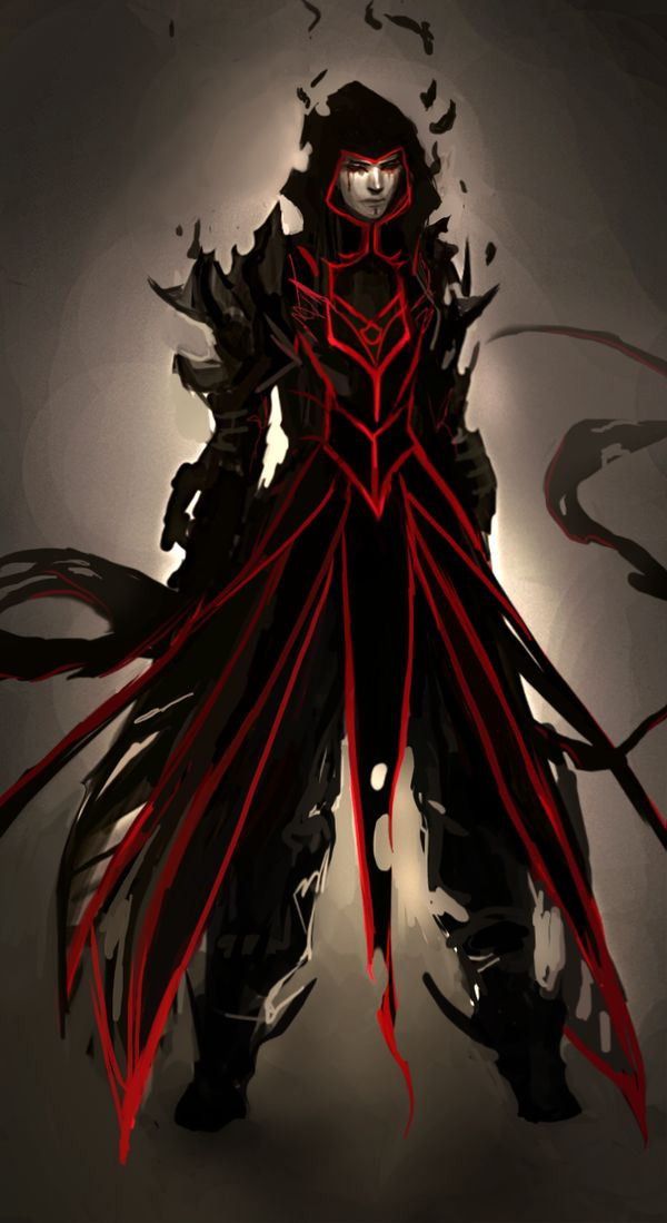 roupa do mago negro