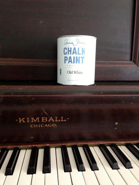 Jedi Craft Girl: Chalk Paint Piano