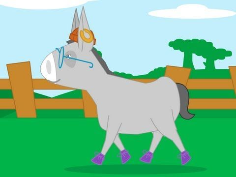 chanson Mon âne a bien mal à sa tête