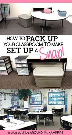 10 Tips for Packing Up Your Classroom- Smart ideas…