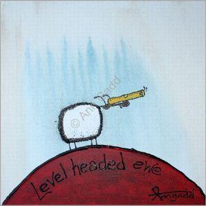"""Level headed ewe"" Ann Gadd  SA Artist"