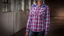 Ryan Michael Let Er Buck Flannel Plaid Shirt - Ya Ya Gurlz