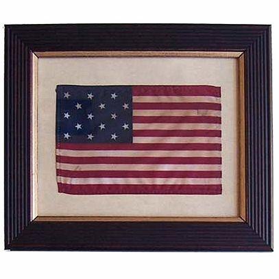 Framed Star Spangled Banner