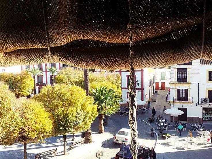 Plaza San Fernando desde Posada San Fernando, Hotel con Encanto en Carmona
