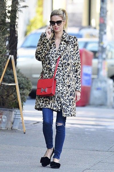 Nicky Hilton Embellished Flats - Nicky Hilton sported cute bow-embellished velvet flats while strolling in Soho.