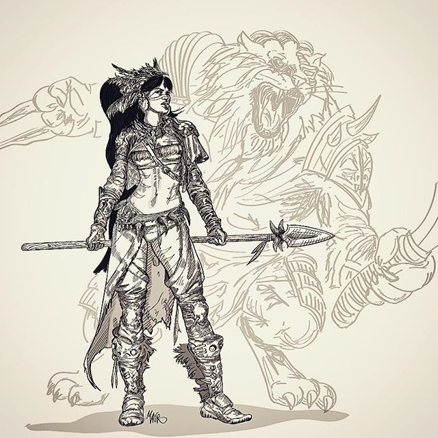 #draw #drawing #tattoo #nerd #geek #illustration #illustrator #marvel #comics #popart #art #artist #shadows #sketch #sketchbook #colours #manga #anime #nidalee #leagueoflegends #rengar #lol