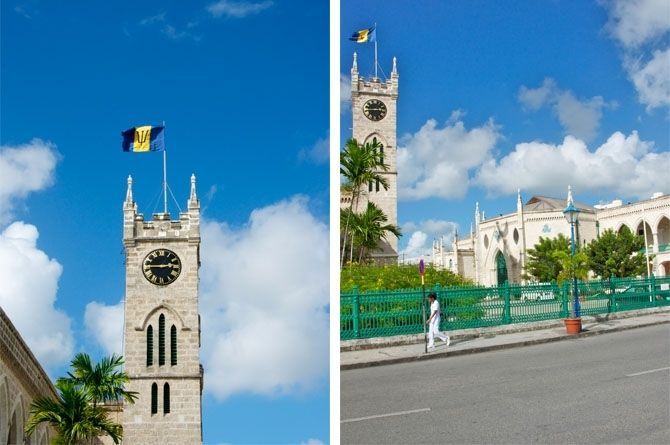 The Barbados Parliment Buildings,Barbados is the 3rd oldest Parliamentary democracy in the world.