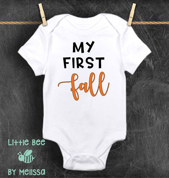 My first fall | bodysuit. When ordering secondary color is for fall. If youd prefer the entire text to be one color, please leave a message when ordering. ⚫️🐝⚫️🐝⚫️🐝⚫️🐝⚫️🐝⚫️🐝⚫️🐝⚫️🐝⚫️🐝⚫️🐝⚫️🐝⚫️🐝⚫️🐝⚫️🐝⚫️🐝⚫️🐝⚫️  All onesies are Gerber brand and are available in; Newborn 0-3 months 3-6 months 6-9 months 12 months 18 months 24 months ⚫️🐝⚫️🐝⚫️🐝⚫️🐝⚫️🐝⚫️🐝⚫️🐝⚫️🐝⚫️🐝⚫️🐝⚫️🐝⚫️🐝⚫️🐝⚫️🐝⚫️🐝⚫️🐝⚫️  Onesies are 100% cotton. If youre unsure of exact size, its best to size up…