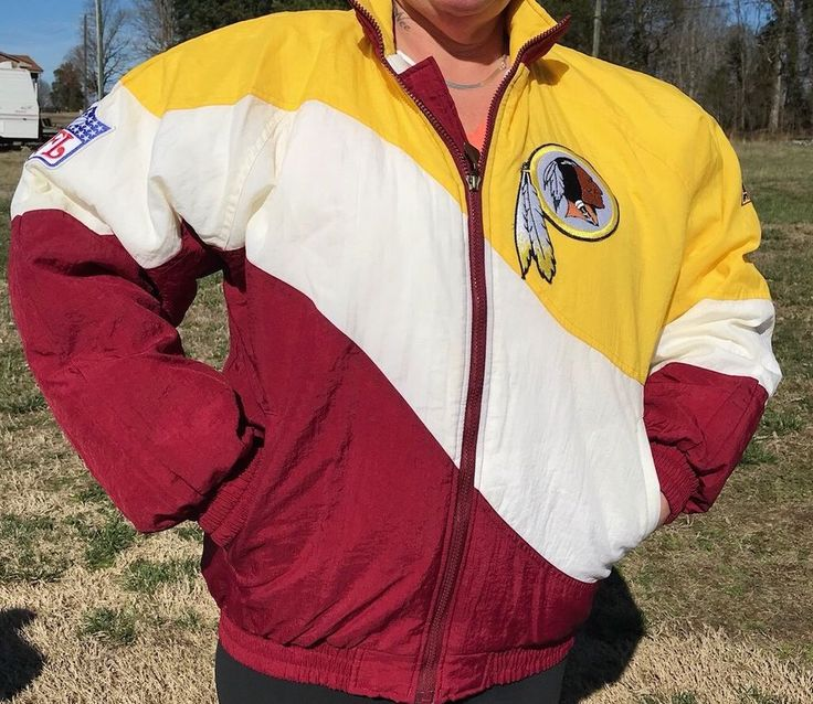 Vintage Washington Redskins Jacket Medium Limited Edition Coat Pro Line Apex One #ApexOne #WashingtonRedskins