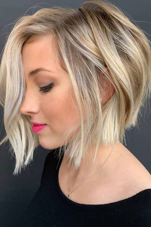 31 Short Bob Haircuts That Are In Trend In 2020 Blonde Bob Haircut Blonde Bob Hairstyles Bob Hairstyles For Thick