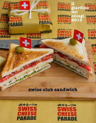 Swiss Club Sandwich