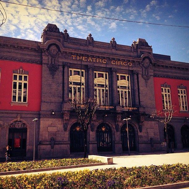Um sítio diferente, das artes, a visitar: Theatro Circo em Braga, Braga