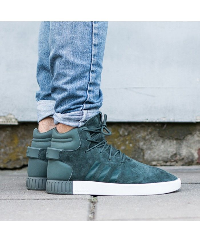 e724435f55f6 Adidas Tubular Invader Olive Green Shoes