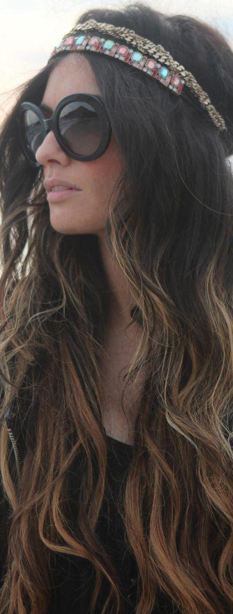 hair, bohemain style