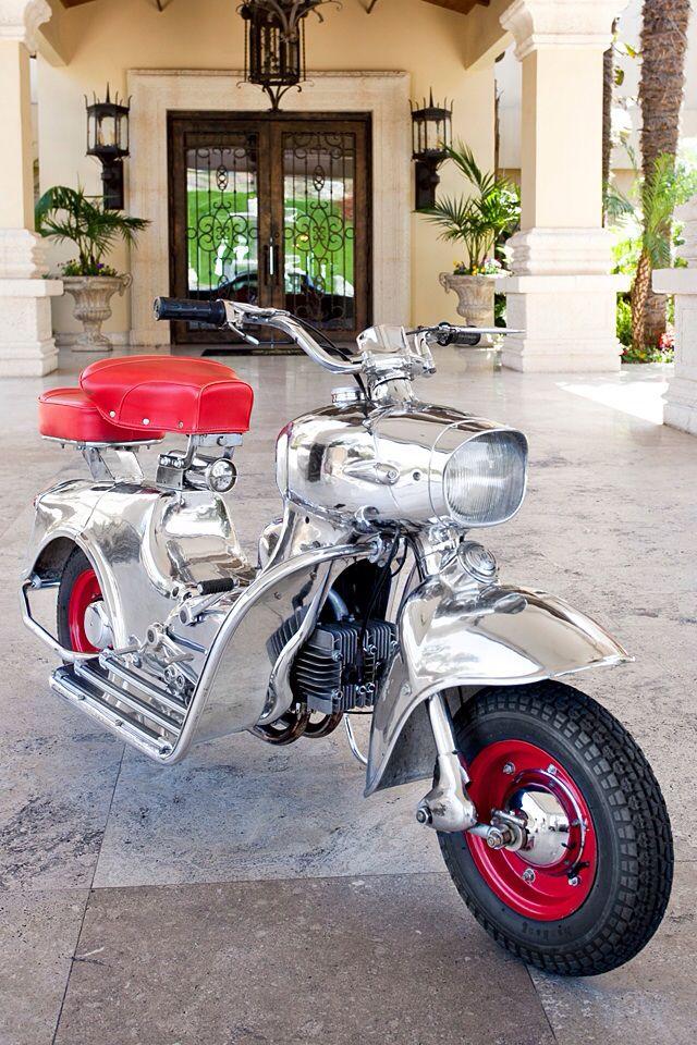 1958 150cc Rumi Formichino motorscooter, made in Bergamo, Italy. Private collection of Mario Artavia.