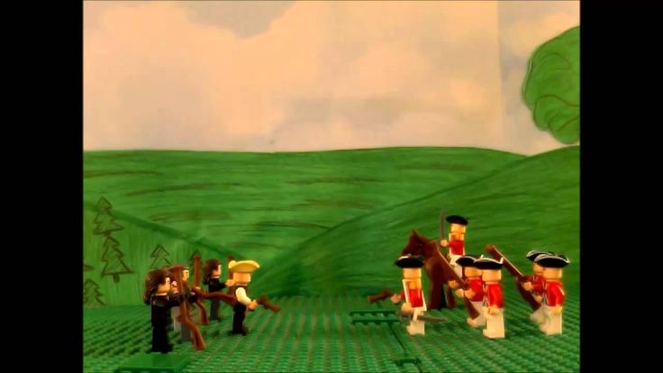 Lego Battle of Lexington and Concord