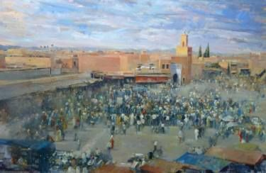 The Main Square of Marrakech