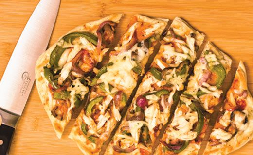 Epicure's Southwest Grilled Chicken Pizza