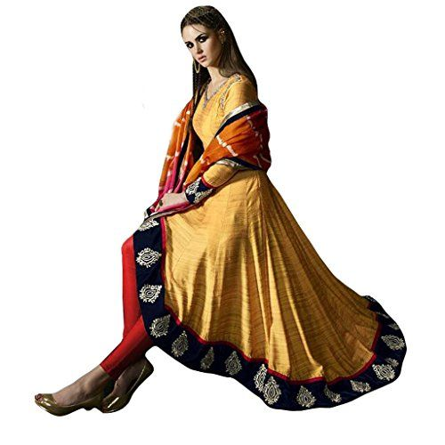 Ethnic Empire Yellow COLOR LATEST INDIAN DESIGNER ANARKAL... http://www.amazon.in/dp/B01N2ZEQFA/ref=cm_sw_r_pi_dp_x_dNCFyb04GTZWK