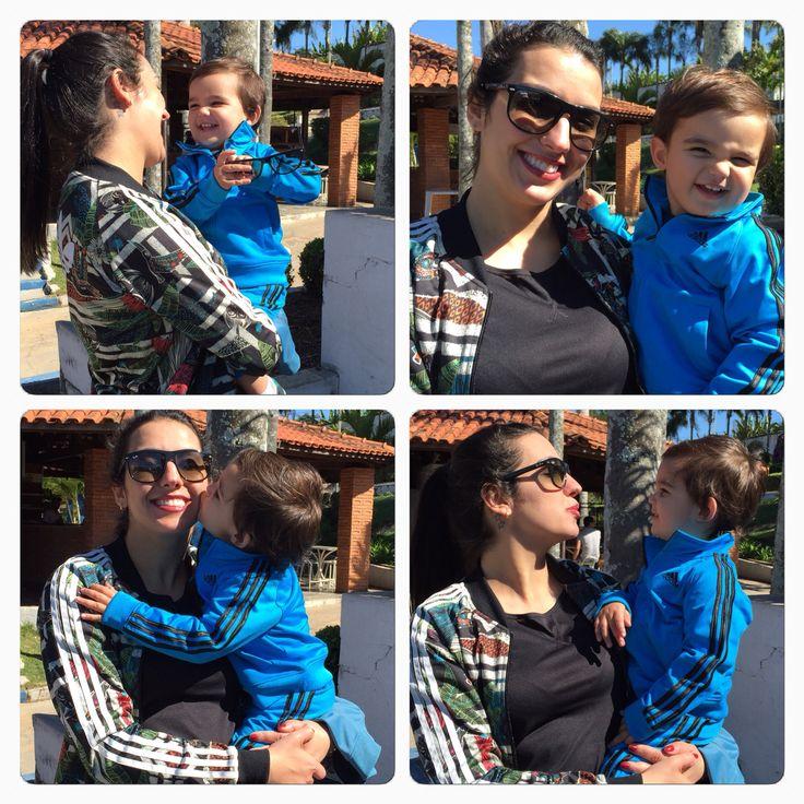 Mamãe e Matteo