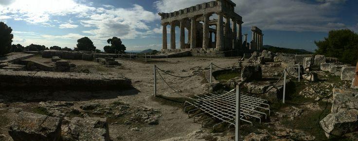 Afaia temple at Aegina