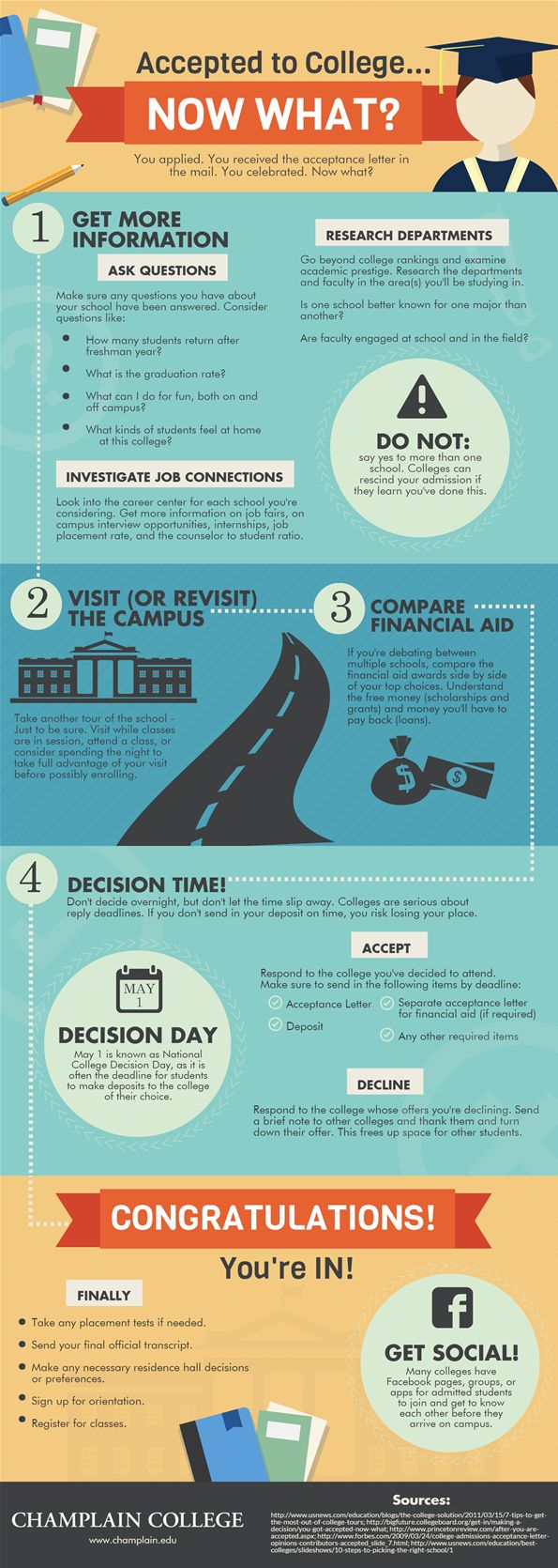 best images about college application smarts take the next steps after you get your acceptance letter