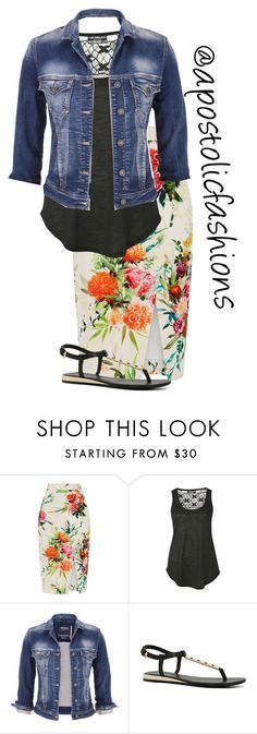"""""""Apostolic Fashions #1368"""" by apostolicfashions on Polyvore featuring Oasis, Pilot, maurices and ALDO"""