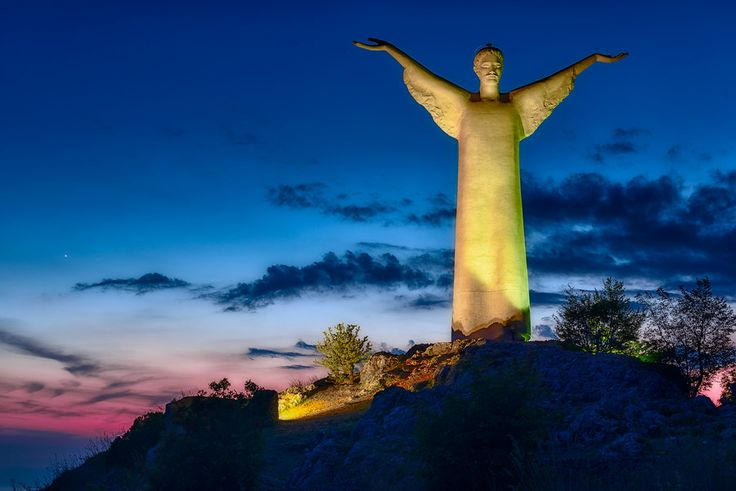 Il Cristo Redentore Maratea   #TuscanyAgriturismoGiratola