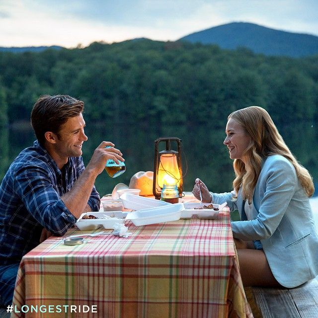 Scott Eastwood & Britt Robertson star in Nicholas Sparks new film, The Longest Ride in theaters April 10!