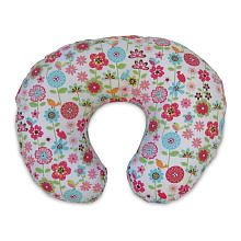 Boppy Slipcovered Pillow Backyard Blooms -- Huh huh. It's fun to say Boppy. Oh and these are handy.