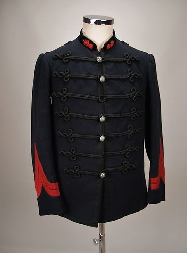 Pre WW1 Antique Tunic Victorian Jacket 19th Century Tunic French Fireman