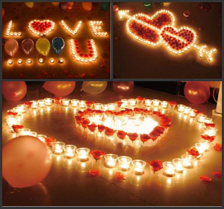 romantic birthday surprises for her - Google Search