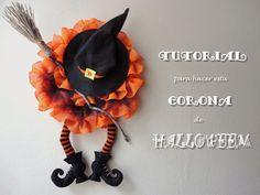 Tutorial de una corona para Halloween: ¡de miedo!
