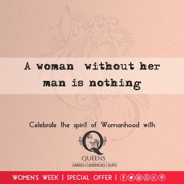 Take pride in what you are and celebrate this Women's Day by flaunting the beauty in you. #QueensEmporium #Womansweek