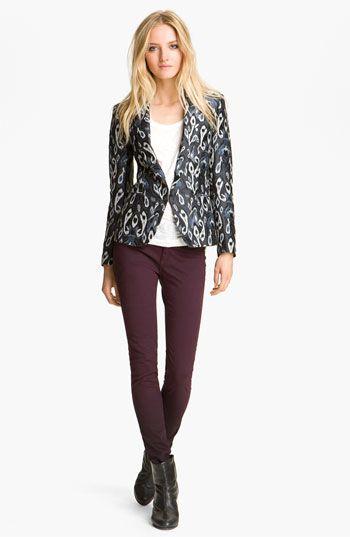 RAG & BONE can do no wrong in my eyes!!!   rag & bone Ikat Print Tuxedo Jacket #Nordstrom #Designer