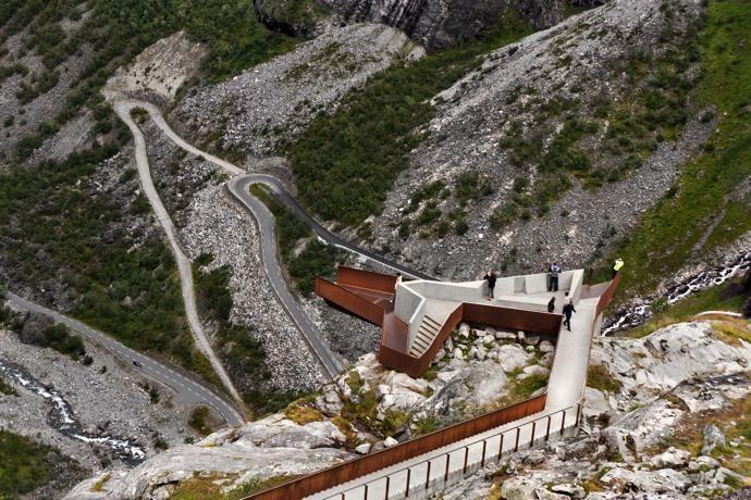 WATCH: Trollstigen Visitor Centre Timelapse