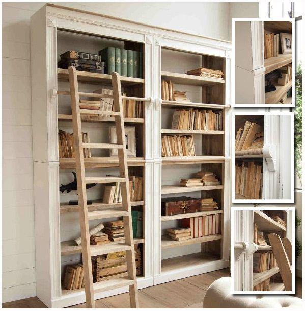Libreria shabby con scala nel 2018 | provence country style ...