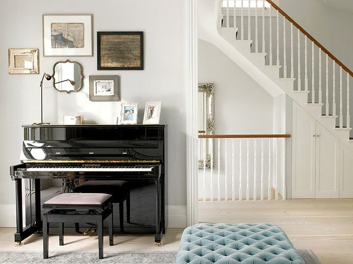 If you have no idea where to set the piano we present you some functional piano room decor ideas.Most often the piano is placed in the living room, the hallway, the library or in a separate room if you have ability for that.