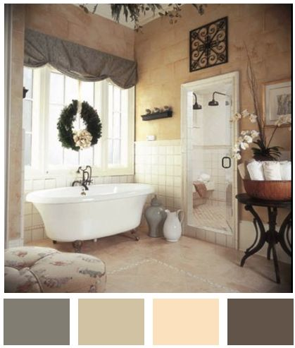 11331 best images about colour palette on pinterest for Staging bathroom ideas