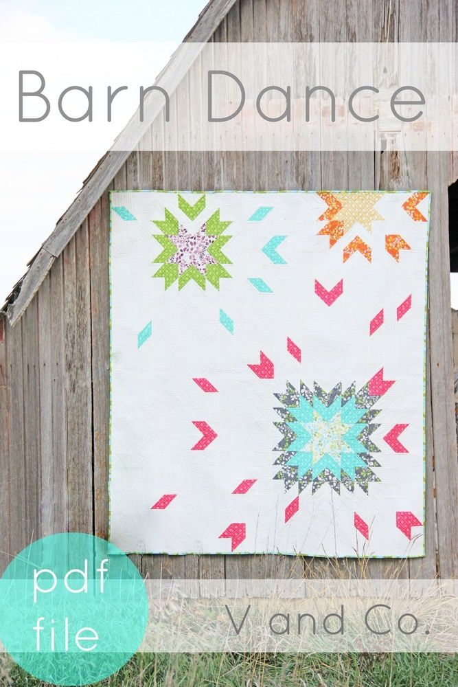 "two quilt sizes are included in this pattern baby quilt size: 42"" x 42"" throw quilt size: 69"" x 75"" inspired by the quilt block..."