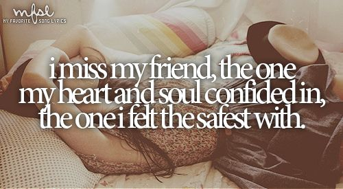 """""""The one who knew just what to say... to make me laugh again; to let the light back in. I miss my friend.""""... """"I Miss My Friend""""- Darryl Worley ❤."""